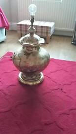Large working Chinese style lamp Base in good order