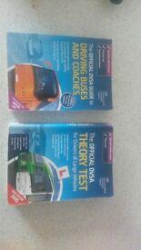 DVSA Driving Books for big vehicles