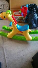 Fisher price rocking tunes giraffe