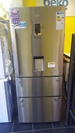 Graded Beko American Fridge Freezer (12 Month Warranty)