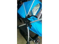 SILVER CROSS PRAM BRAND NEW BLUE RRP 599.99 give me an offer never been use ring or text 07729258329