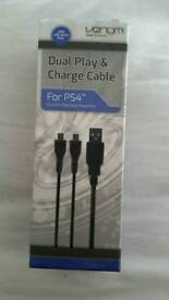 Brand new PS4 Dual Play and Charge cable