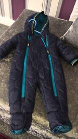 Ted baker boys snow coat