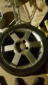 "Ford alloy wheels 16"" streetka alloys"