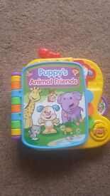 Fisher-Price Laugh & Learn Puppy's Animal Friends Book. Great condition