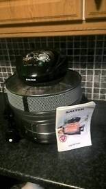 Black and chrome slow cooker/ fat fryer £30