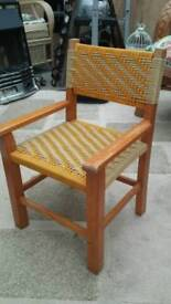 Vintage woven childs chair..great condition