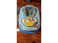 Chicco Baby Walker (in shape of car with horn/flashing lights/engine start noise) Height Adjustable