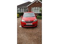 Skoda citigo SE 3 door Red 999cc 15 plate 2015 26k alloys Airconditioning