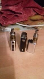 3 x totally wicked e cigs