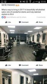 Chair for rent in busy salon in Cosham