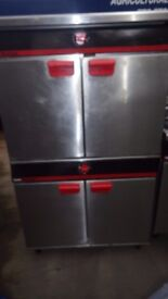 Bartlett yeoman oven double stack type,Model e19G/902 nat gas,Working order