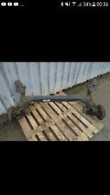 Ford fiesta mk6 rear axle *drum brakes*