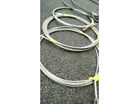Unused steel cables *4