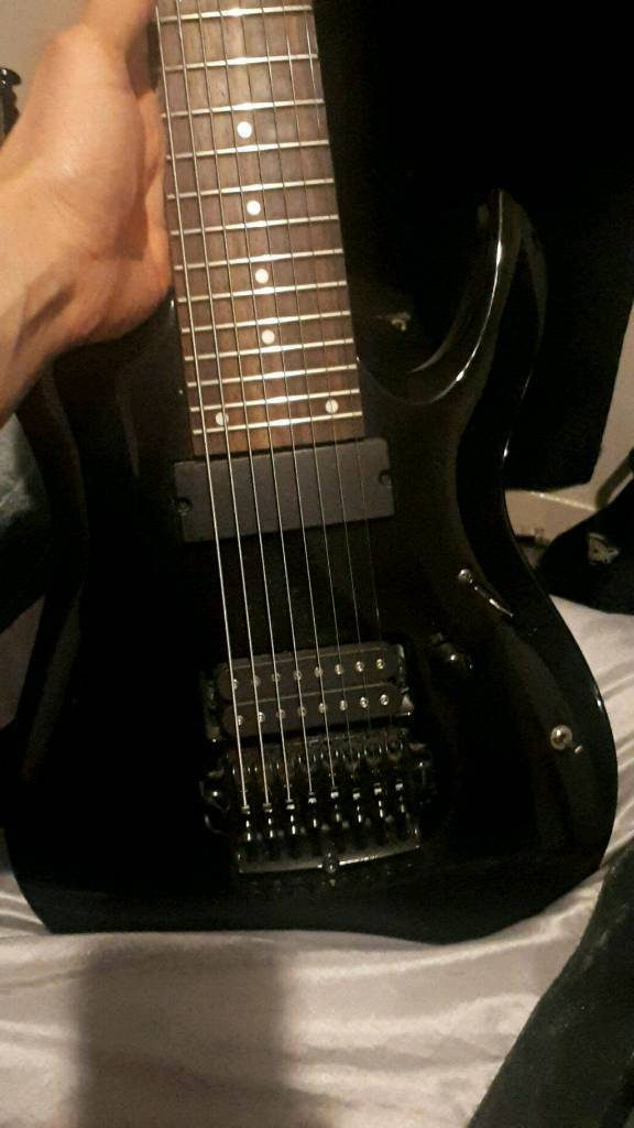 Ibanez RGA8 with D activator - looking for synths