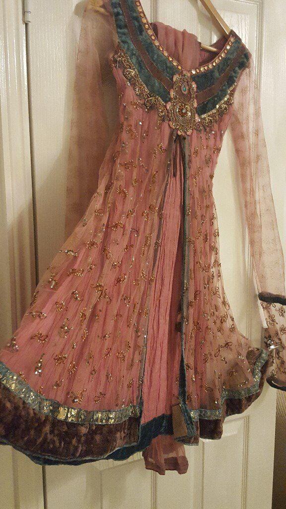 Beautiful Pink Asian Wedding Outfit