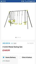 Swing set from smyths