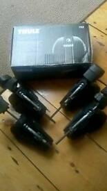 Vauxhall zafira thule roof bar foot set
