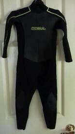 GUL JXS 3mm wetsuit 64cm chest