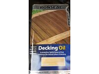 5 Litres of Ronseal Natural Decking Oil