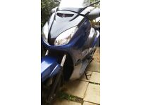 Maxi scooter , yamaha yp 250 , xmax 250