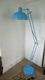 Turquoise Blue Floor Lamp