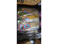 Joblot of 79 2 packs of Hanging Christmas Decorations