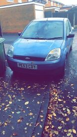 £300 for Ford Fiesta 78,000 miles MOT till May