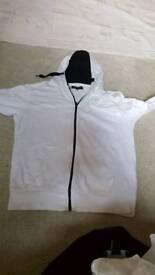 Boys or men whites jacket size M