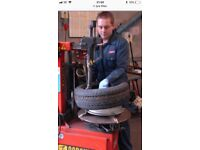 """""""TYRES"""" TYRE FITTER WANTED, JOB FULL TIME OR PART TIME CALL FOR DETAILS"""