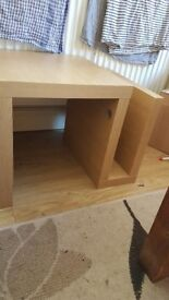 Old oak small coffee table