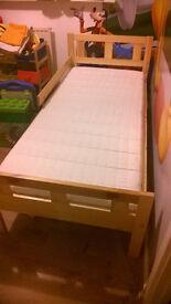 junior bed and mattress