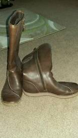 Clarks ladies boots size 6.5