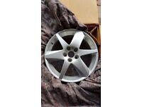 Saab vector alloy wheel