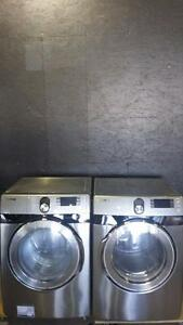 WD0497A Samsung Heavy Duty Front Load Washer/Dryer Set FREE DELIVERY, INSTALLATION AND DISPOSAL INCLUDED