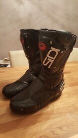 Sidi ladies size 5.5 motorcycle boots
