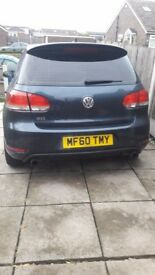GOLF GTI REPLICA 1.4 TSI. BLUE. MOT AND TAXED. CAT D. GOOD CONDITION. £5000.