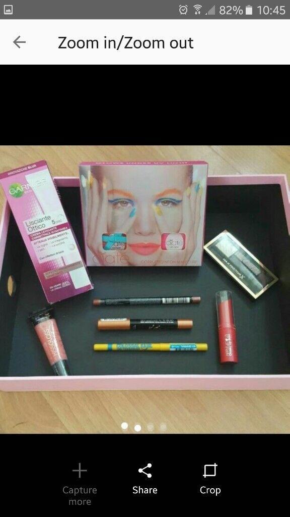Beauty box 8 NEW items RRP £43.75