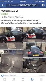 Limited Edition 2.3 5V VW beetle lady owner excellent car