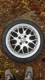 polo gti 6n2 bbs rep 2x wheels