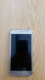 Rose Gold Galaxy J5. Unlocked, good condition, very light use.