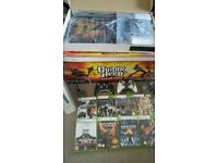 Xbox 360 Console, Games, Kinect Camera and Guitar Hero Band Set