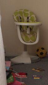 casstto 3sixti high chair