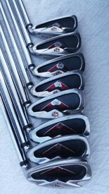 WILSON STAFF Di7 GOLF IRONS. TX-105 FS