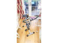 Exercise Bike & Six Pack Ab Kit