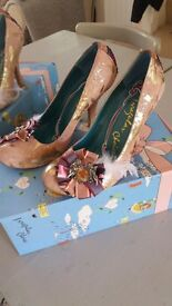 Irregular Choice Cortesan Rosette Heels