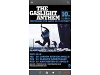 The Gaslight Anthem (GLASGOW) 24th July - 10th Anniversary Tour -the 59 sound