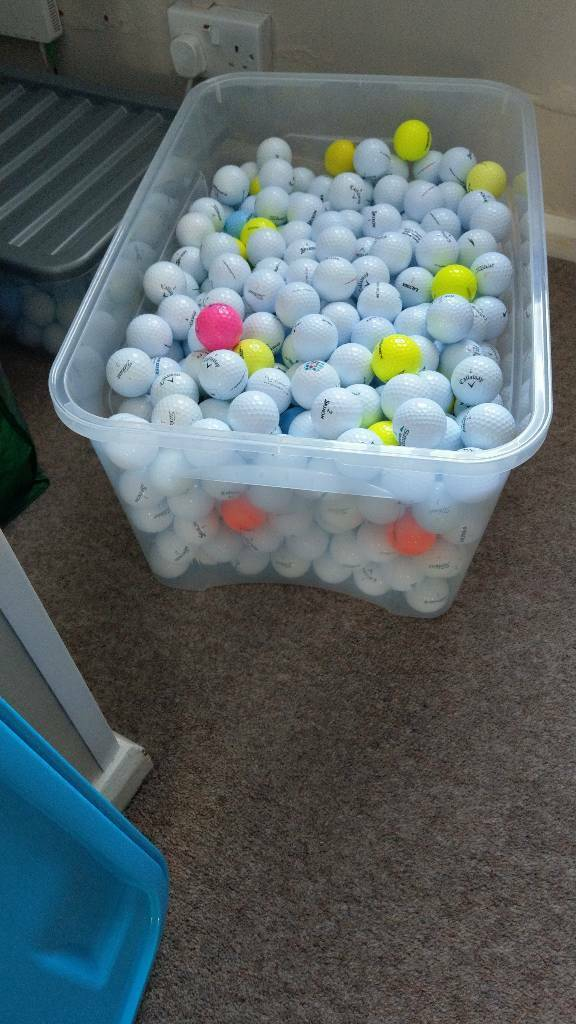 Golf balls 1200 plus joblot