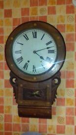 Usa drop dial clock