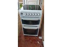 Oven Cooker Canon 50cm Free Standing Ceramic Electric Double Oven - Model: C50EKW